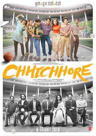 Chhichhore 2019 WEB-DL 400MB Full Hindi Movie Download 480p watch Online Free bolly4u