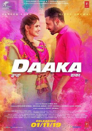 Daaka 2019 Pre DVDRip 400MB Punjabi 480p Watch Online Full Movie Download bolly4u