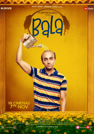 Bala 2019 Pre DVDRip 950Mb Full Hindi Movie Download 720p Watch Online Free bolly4u