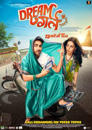 Dream Girl 2019 WEB-DL 300Mb Full Hindi Movie Download 480p Watch Online Free bolly4u