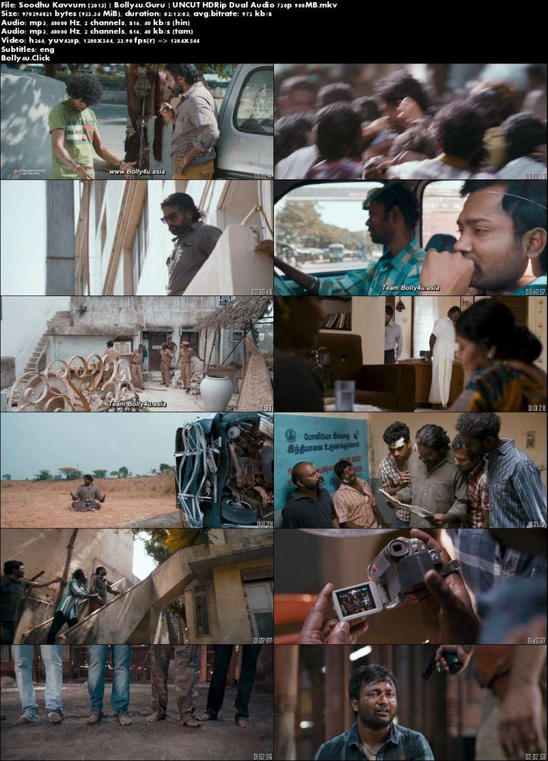 Soodhu Kavvum 2013 BluRay 400mb UNCUT Hindi Dual Audio 480p Download