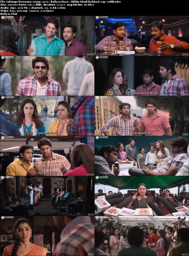 Lafange Deewane 2019 HDRip 750MB Hindi Dubbed 720p Download