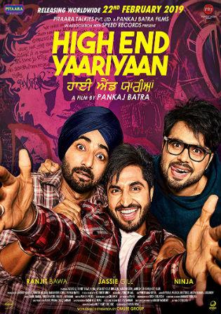 High End Yaariyan 2019 WEBRip 850MB Punjabi 720p Watch Online Free Download bolly4u