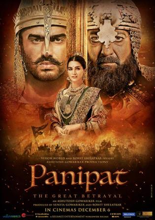 Panipat 2019 Pre DVDRip 500MB Full Hindi Movie Download 480p Watch Online Free bolly4u