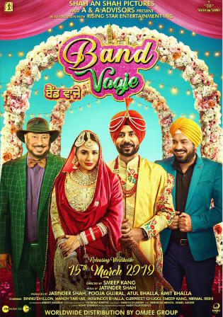 Band Vaaje 2019 WEB-DL 300Mb Punjabi 480p Watch Online Full Movie Download Bolly4u