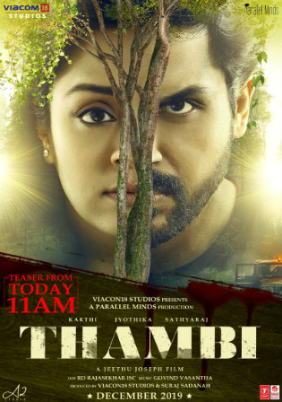 Thambi 2019 HDRip 400Mb Tamil 480p Watch Online Full Movie Download bolly4u