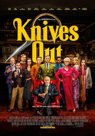 Knives Out 2019 HDRip 950Mb English 720p ESub Watch Online Full Movie Download bolly4u