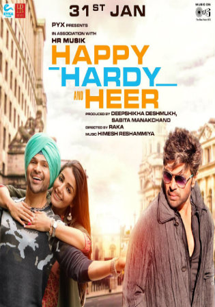 Happy Hardy and Heer 2020 Pre DVDRip 700Mb Hindi x264 Watch Online Full Movie Download bolly4u
