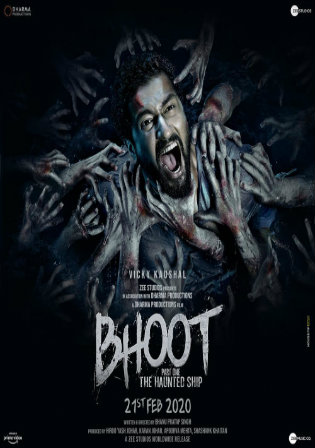Bhoot 2020 Pre DVDRip 300MB Full Hindi Movie Download 480p Watch online Free bolly4u