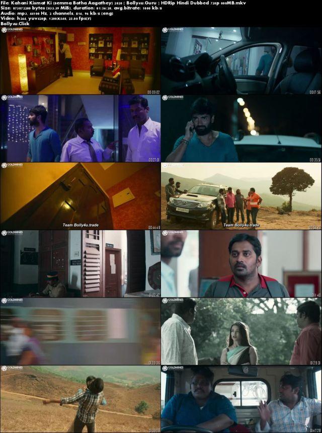 Kahani Kismat Ki 2020 HDRip 800Mb Hindi Dubbed 720p Download