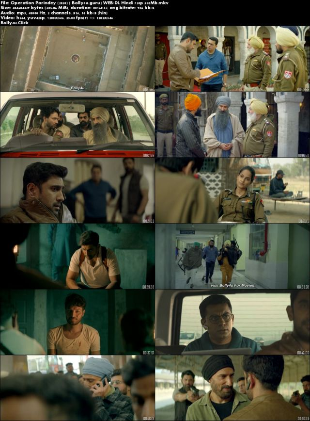 Operation Parindey 2020 WEB-DL 350Mb Hindi 720p Download