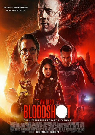 Bloodshot 2020 WEB-DL 800Mb English 720p watch Online Full Movie Download bolly4u