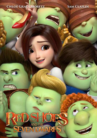Red Shoes and the Seven Dwarfs 2020 HDRip 300Mb English 480p ESub Watch Online Full Movie Download bolly4u