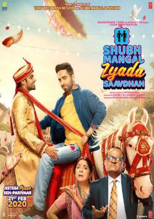 Shubh Mangal Zyada Saavdhan 2020 WEBRip 400MB Hindi 480p ESub Watch Online Full Movie Download bolly4u