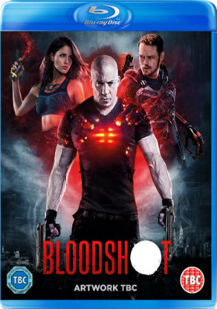 Bloodshot 2020 BRRip 300MB English 480p ESub Watch Online Full Movie download bolly4u
