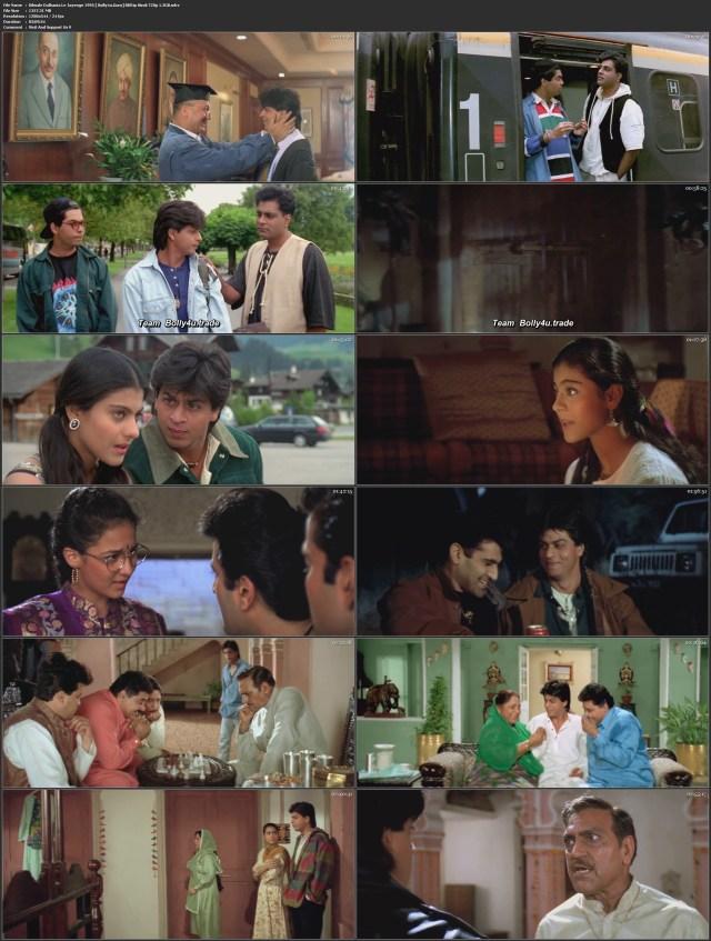 Dilwale Dulhania Le Jayenge 1995 BRRip 550MB Hindi 480p Download