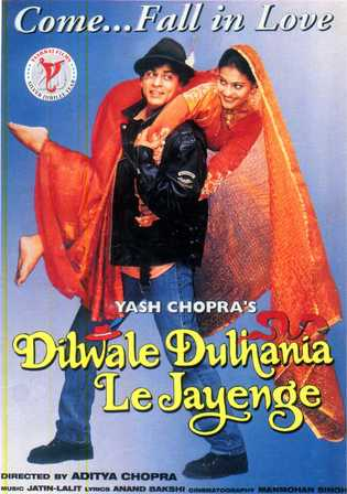 Dilwale Dulhania Le Jayenge 1995 BRRip 1.3GB Hindi 720p Watch Online Full Movie Download bolly4u