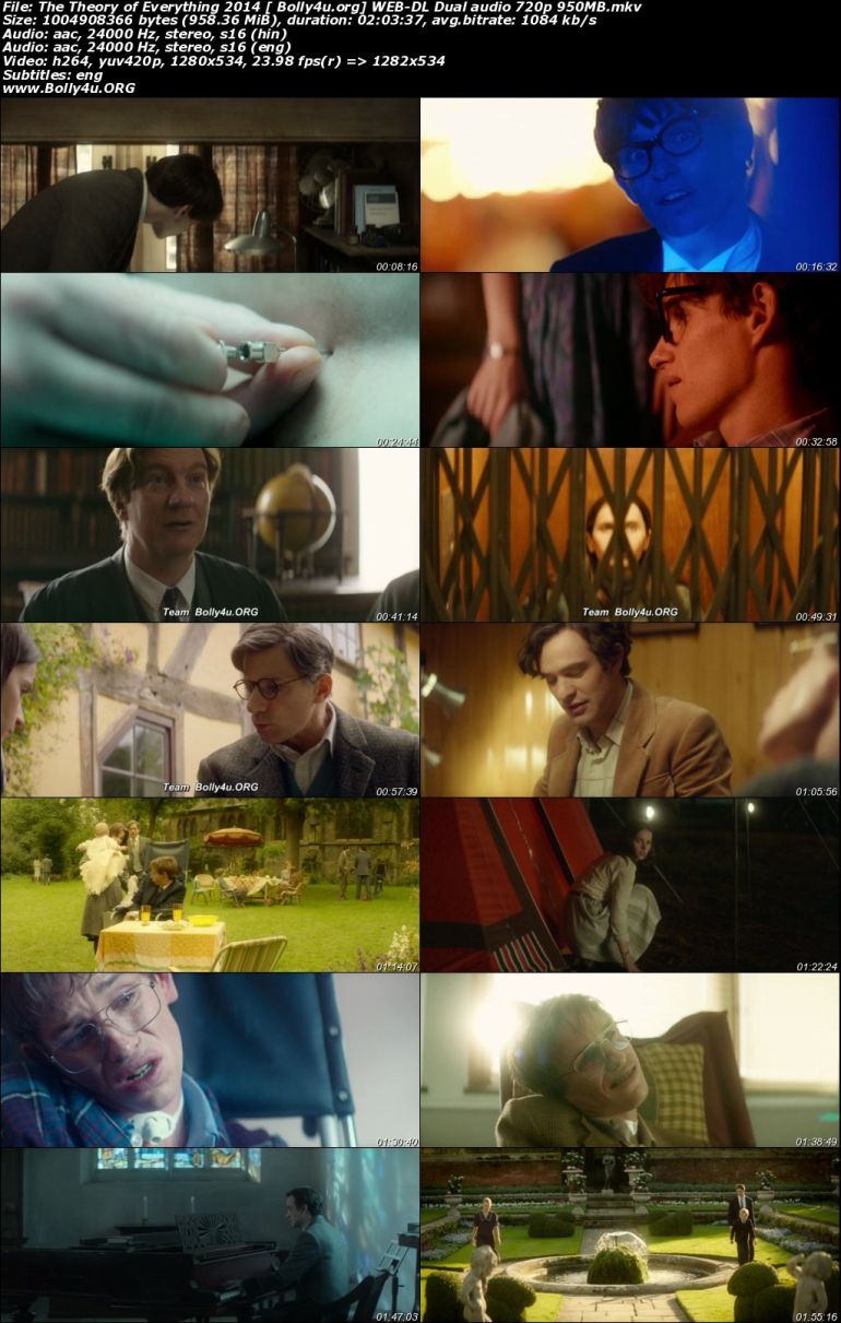 The Theory of Everything 2014 WEB-DL 950Mb Hindi Dual Audio 720p Download