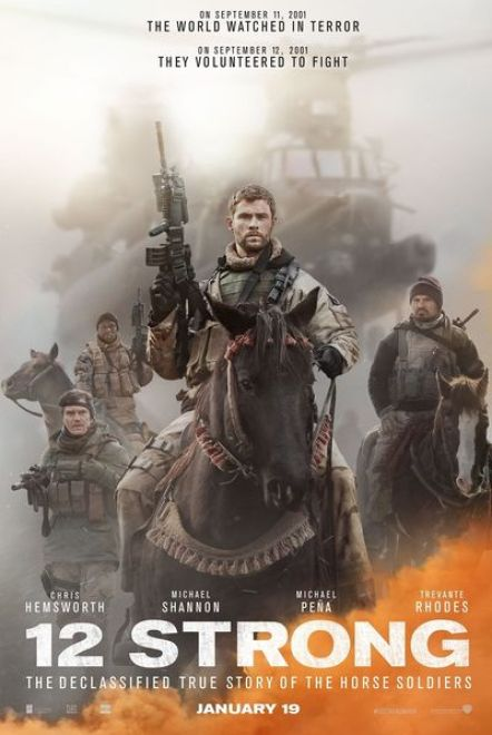 12 Strong (2018) BluRay Dual Audio [Hindi (HQ Dubbed) & English] 1080p 720p 480p [with ADS!] | Full Movie