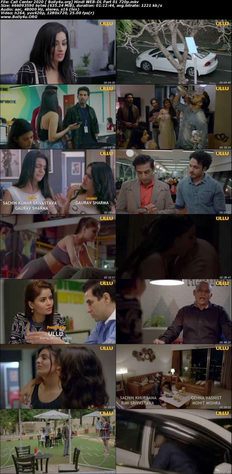 Call Center 2020 WEB-DL 900Mb Hindi Complete S01 Download 720p