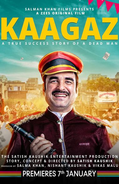 Kaagaz (2021) Hindi WEB-DL 1080p 720p & 480p x264 ESubs HD | Full Movie [ZEE5 Film]