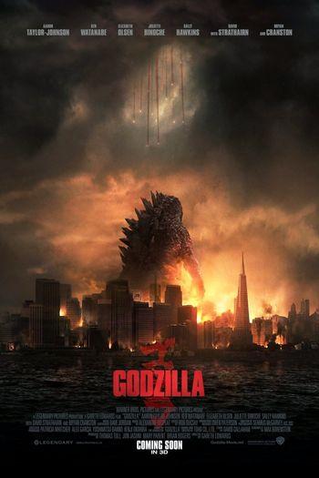Godzilla (2014) BluRay Dual Audio [Hindi (ORG 5.1) & English] 1080p 720p & 480p x264 HD