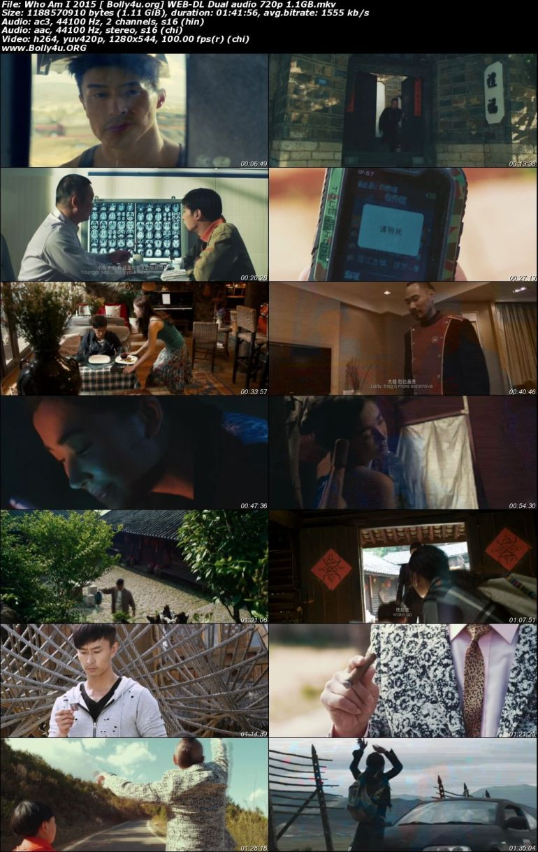 Who Am I 2015 WEB-DL 350Mb Hindi Dual Audio 480p Download