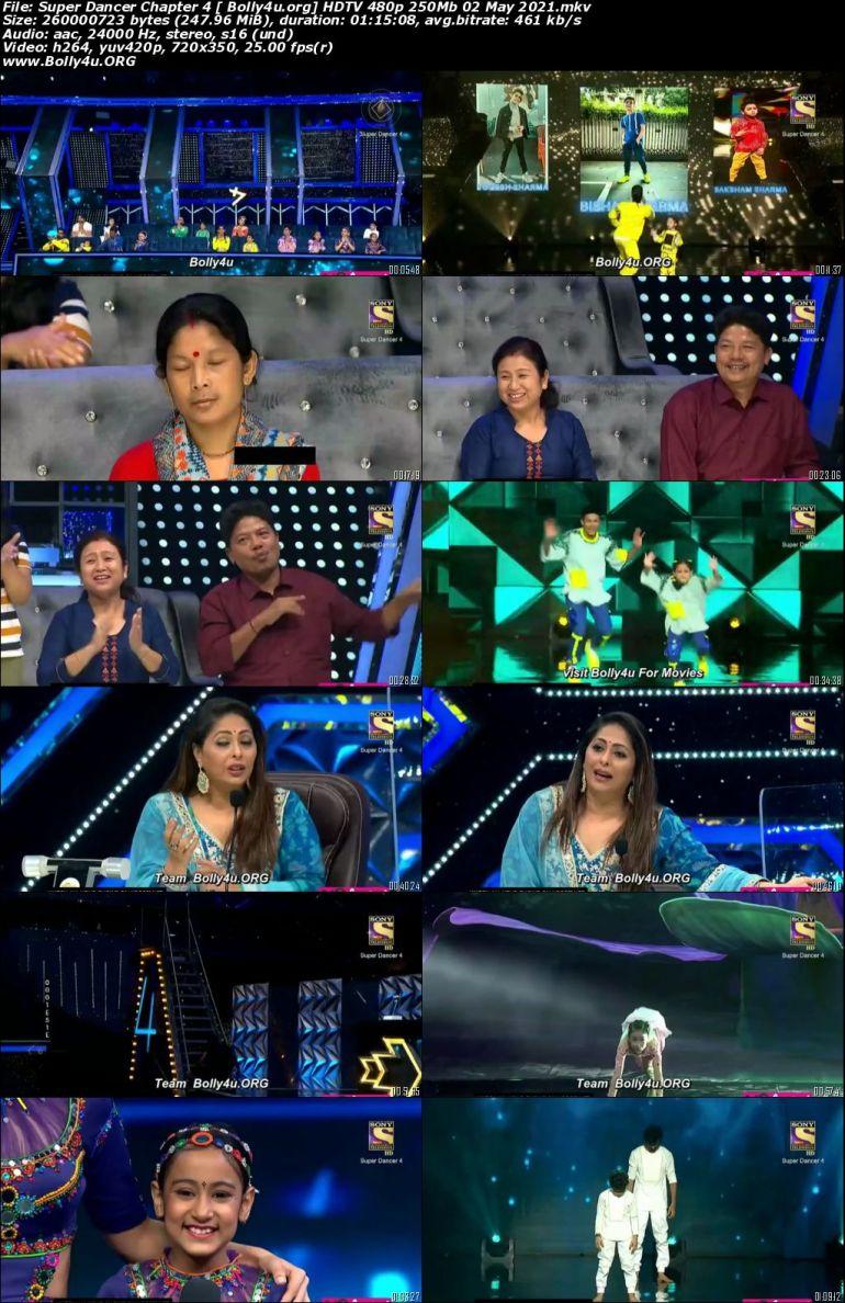 Super Dancer Chapter 4 HDTV 480p 250Mb 02 May 2021 Download