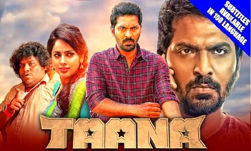 Taana 2021 HDRip 350Mb Hindi Dubbed 480p Watch Online Full Movie Download bolly4u