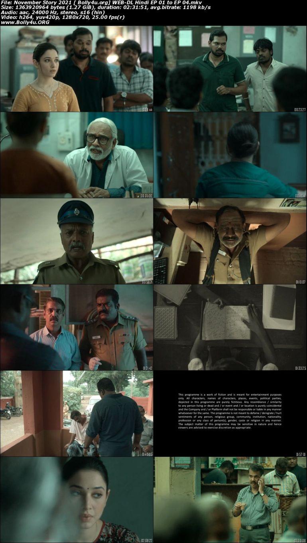 November Story 2021 WEB-DL 2.3GB Hindi S01 Download 720p