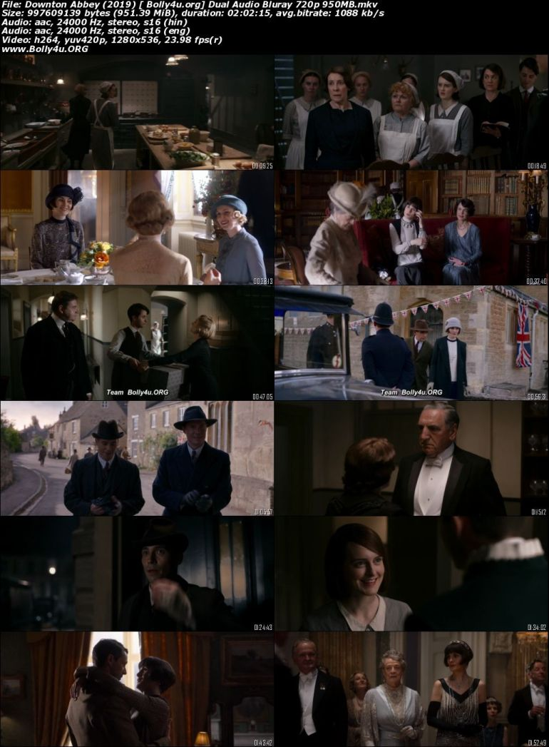 Downton Abbey 2019 BluRay 950MB Hindi Dual Audio 720p Download