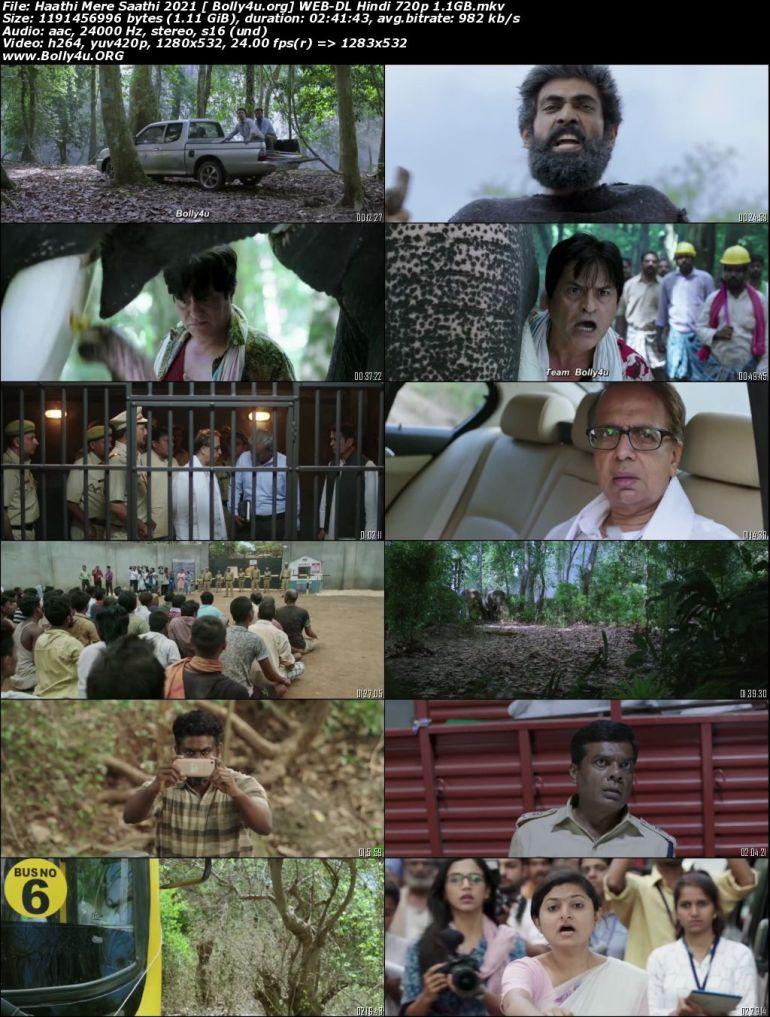 Haathi Mere Saathi 2021 WEB-DL 1.1GB Hindi Movie Download 720p