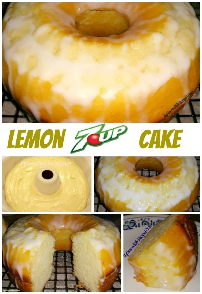 Easy Lemon 7 Up Cake