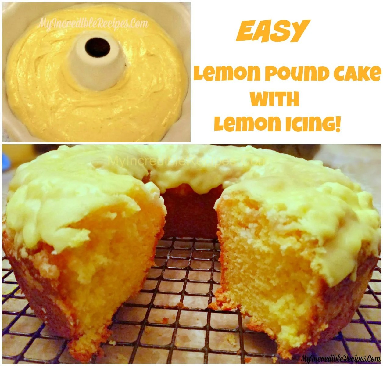 Recipes And Cake Easy Icing