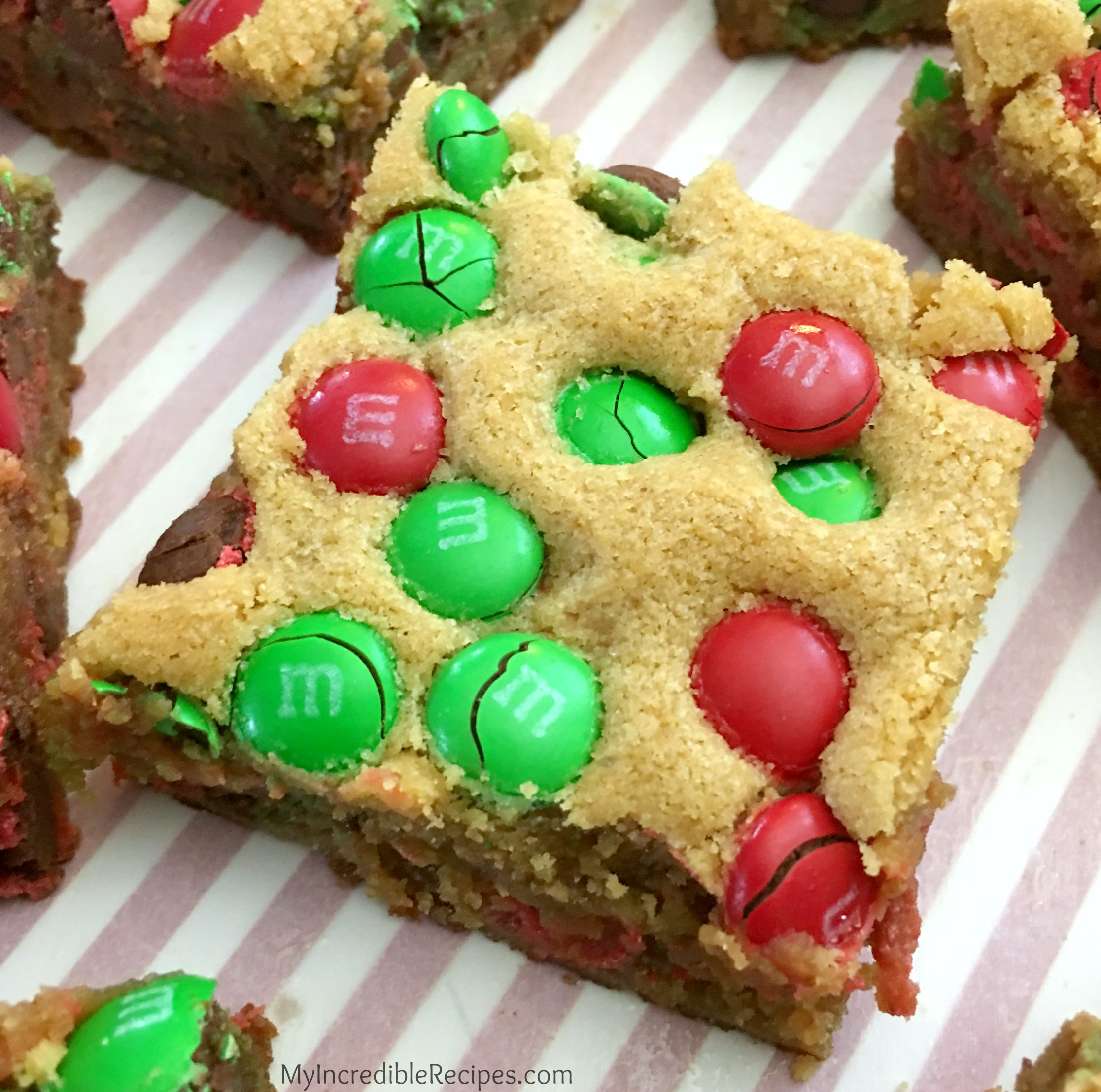 Thick Amp Chewy M Amp M Cookie Bars