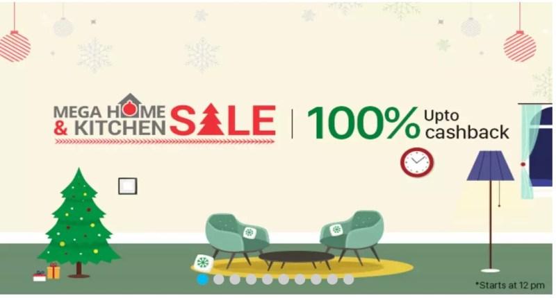 Paytm 100% Cashback Sale