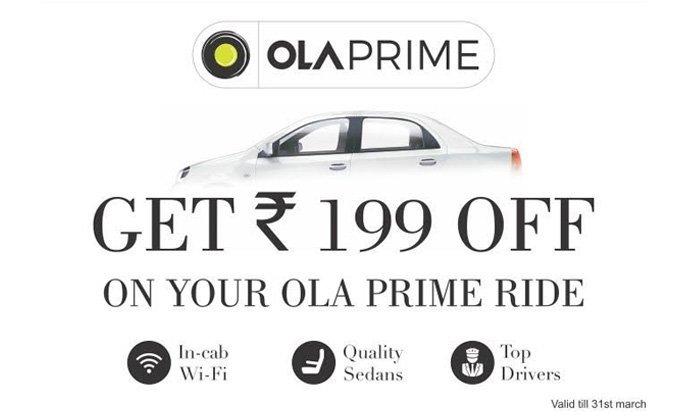 Ola Free Ride