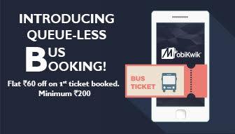 Mobikwik Bus Ticket Offer