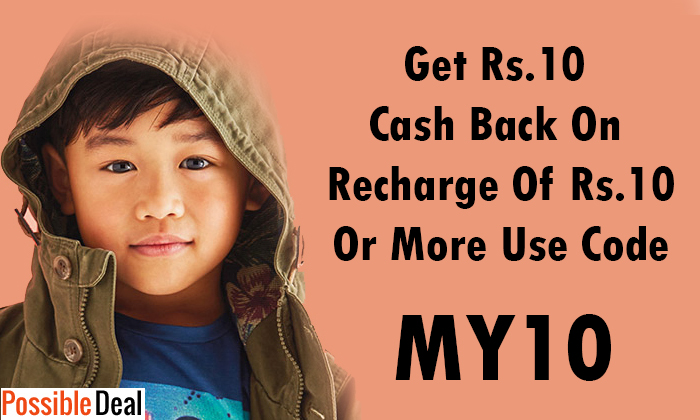 PossibleDeal Loot - Get Rs. 10 Cashback On Recharge Of Rs. 10 Or More [Facebook Users]