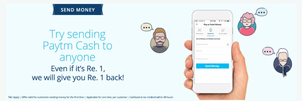 Paytm Send Money Offer