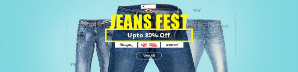 Shopclues Mens Jeans Offers