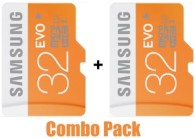 [ Pack of 2 ] Samsung 32 GB CLASS 10 Micro SD Card Memory Card @ Rs. 435 Only [New User