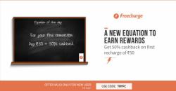 Freecharge TRYFC Coupon