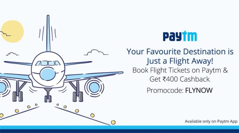 Paytm Flight Ticket
