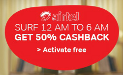 Airtel Night Internet