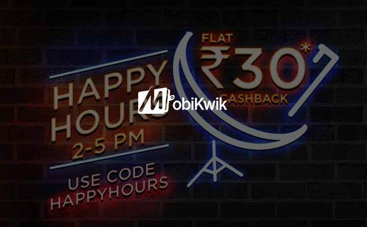 Mobikwik Happy Hours