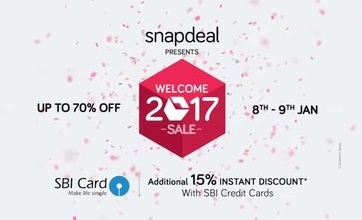Snapdeal State Bank Offer