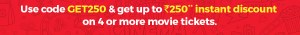 Bookmyshow Freecharge Offer