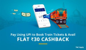 Train Tickets Cashback Offers