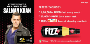 Paytm Mall Appy Fizz Offer